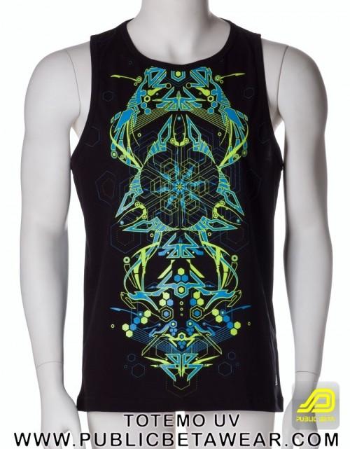 Totemo UV D25 - Sleeveless T-Shirt by Public Beta Wear