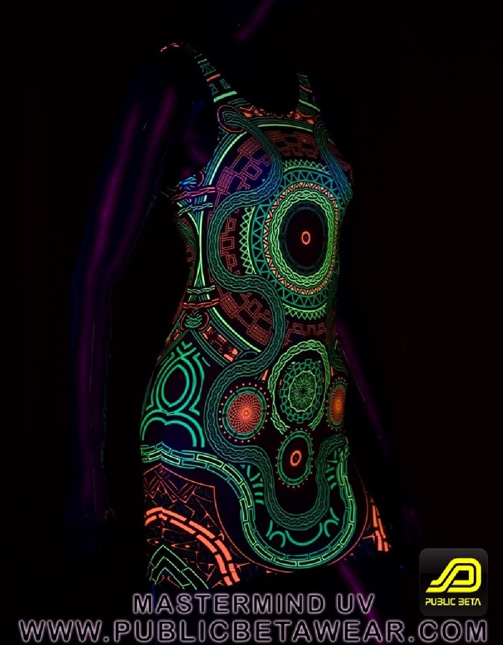 Mastermind D54 UV TTDress by Public Beta Wear