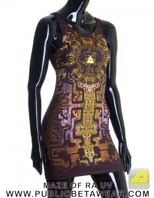 Maze of Ra D63 UV TTDress by Public Beta Wear