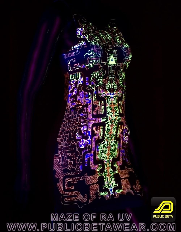 Maze of Ra D63 UV TTDress by Public Beta Wear
