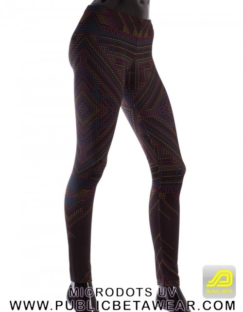 Microdots UV D26 Leggings by Public Beta Wear