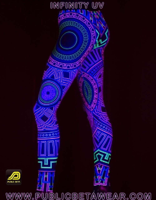 Infinity UV D40 - Leggings by Public Beta Wear