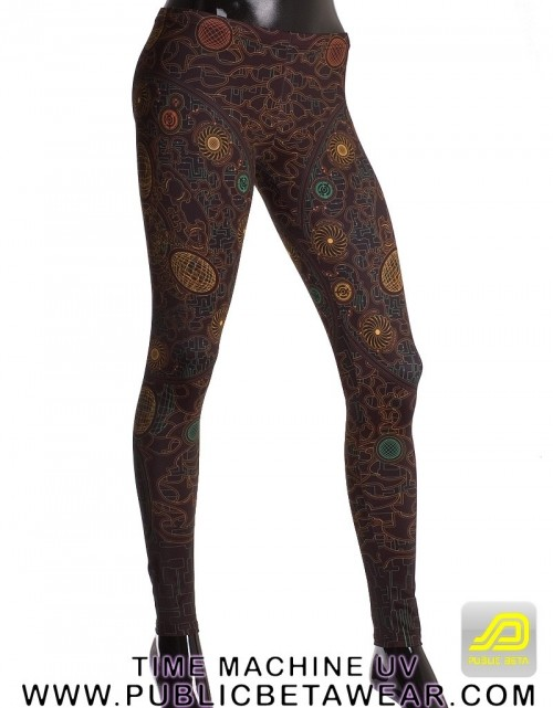 Time Machine UV D23 Leggings by Public Beta Wear