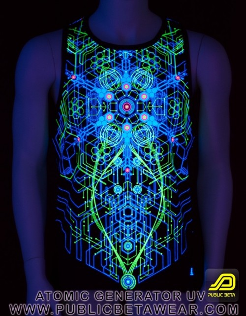 Atomic Generator UV D2 - Sleeveless T-Shirt by Public Beta Wear