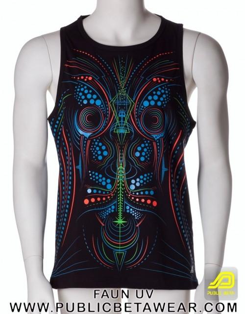 Faun UV D79 - Sleeveless T-Shirt by Public Beta Wear