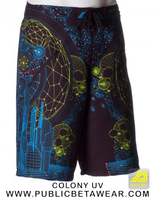 Colony UV D62 Boardshorts