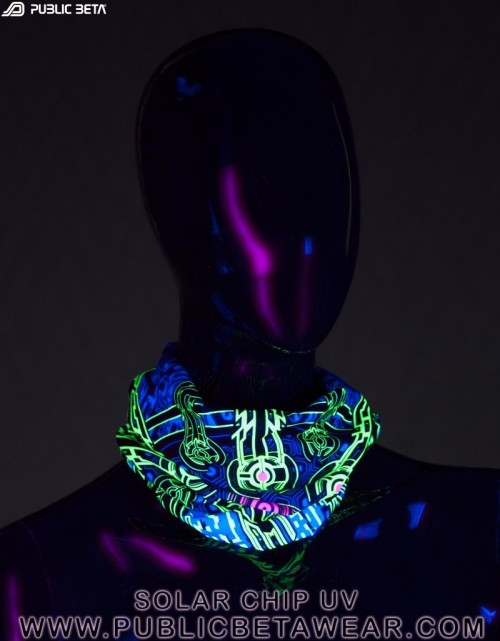 Solar Chip UV D41 Tube Bandana by Public Beta Wear