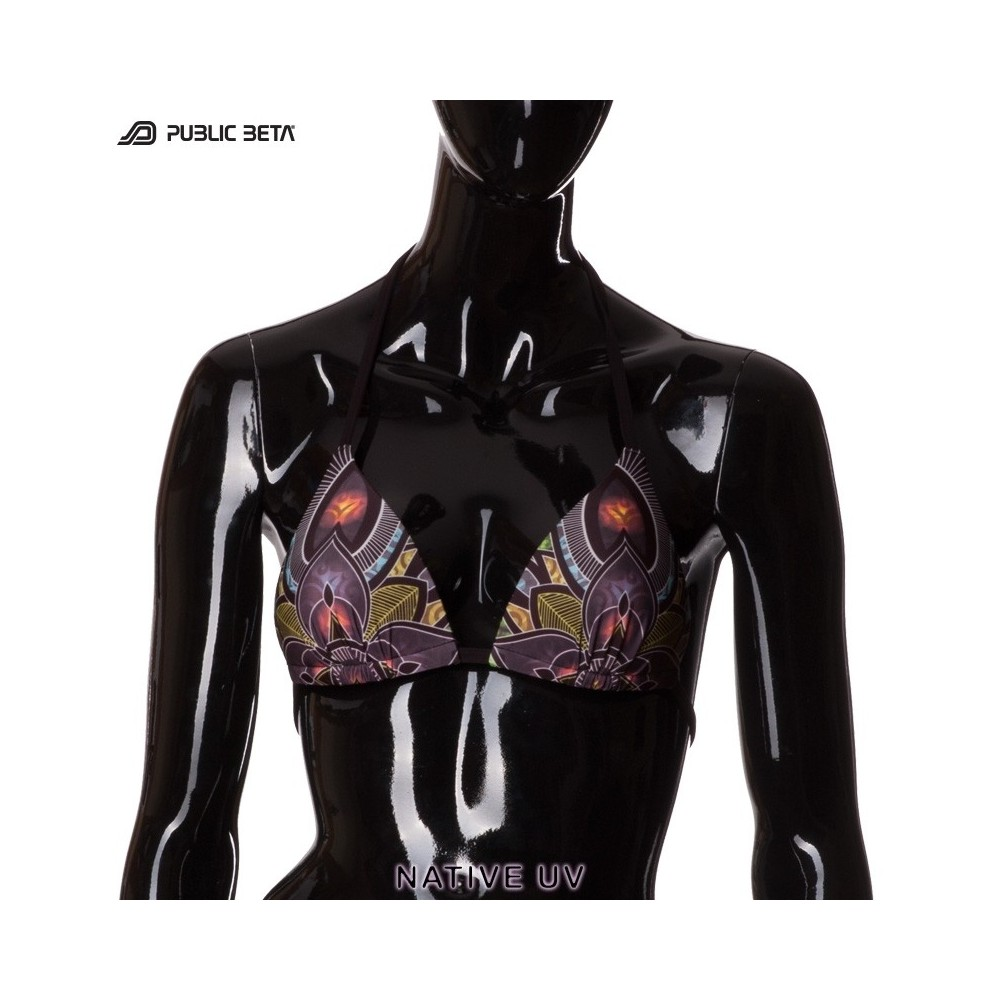 Native UV D81 Bikini Top by Public Beta Wear