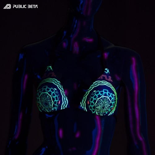 Mastermind UV D54 Bikini Top by Public Beta Wear
