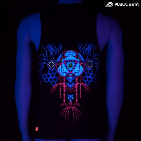 Meruvian UV D82 - Sleeveless T-Shirt by Public Beta Wear