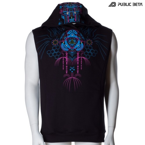 Blacklight Vest /Meruvian UV D82