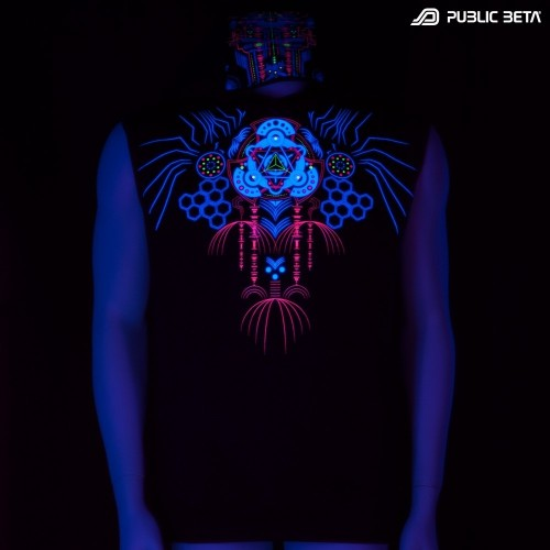 Meruvian UV D82 Vest - by Public Beta Wear