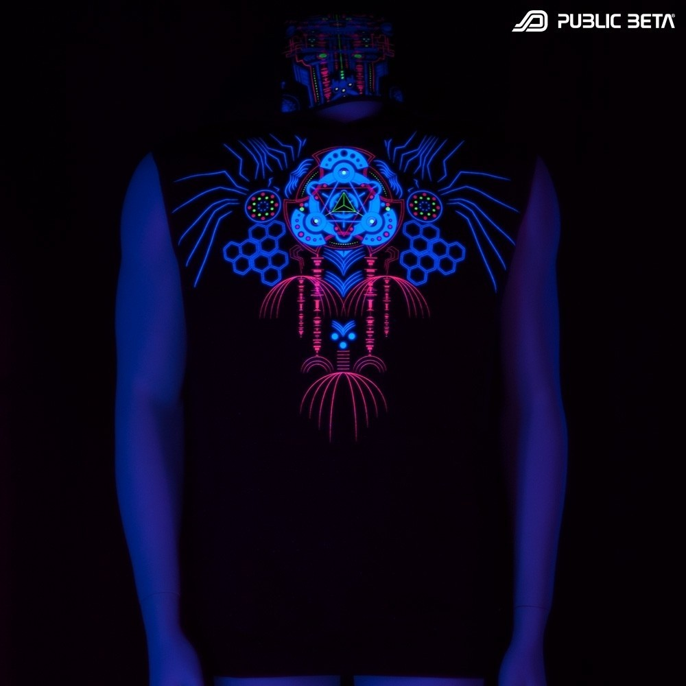 Meruvian UV D82 Vest - by Public Beta Wear