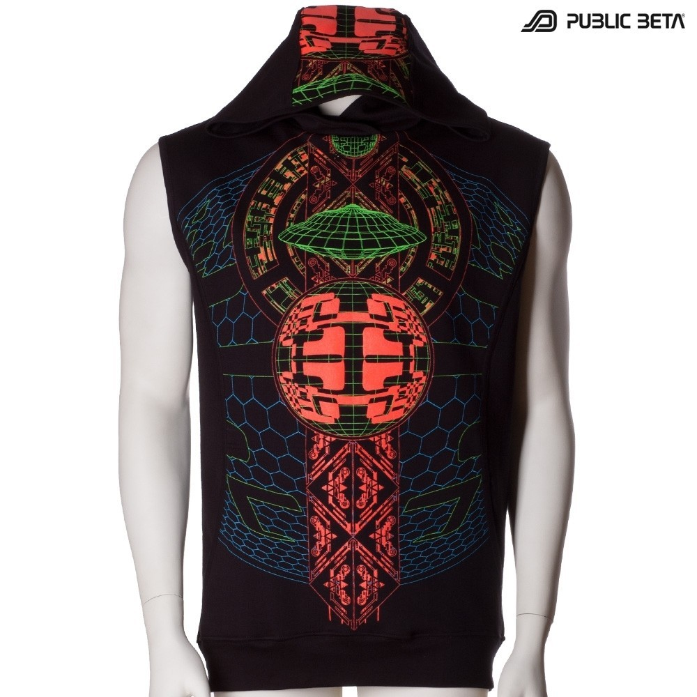 Psytrance Clothing /Activator UV D83 Vest