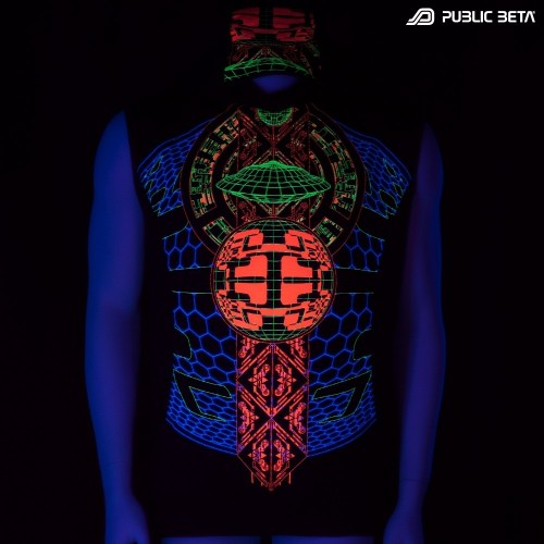 Activator UV D83 Vest - by Public Beta Wear