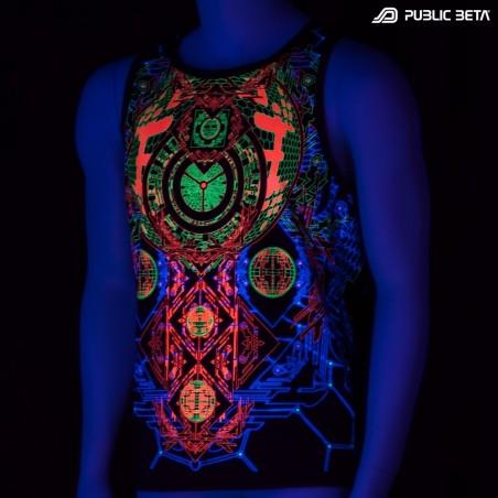 Activator UV D83 - Sleeveless T-Shirt by Public Beta Wear