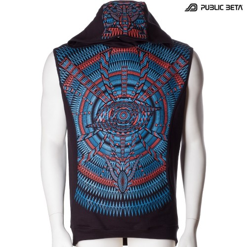 Psywear Vest / I C ALL UV D85