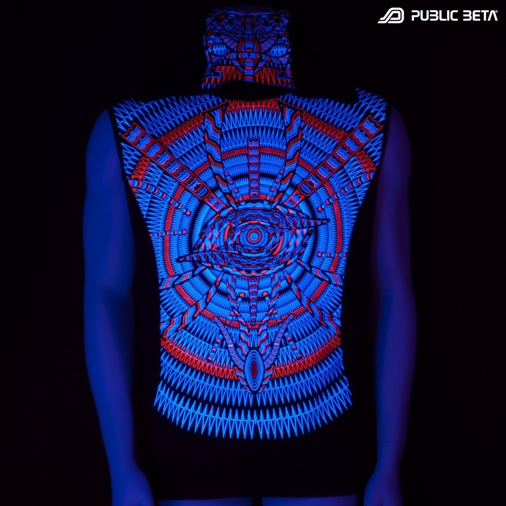 I C ALL UV D85 Vest - by Public Beta Wear