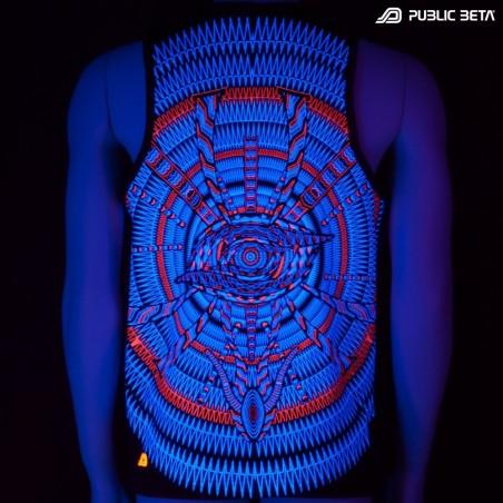 I C ALL UV D85 - Sleeveless T-Shirt by Public Beta Wear