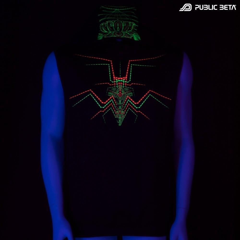 Lotus UV D86 Vest / Blacklight Clothing