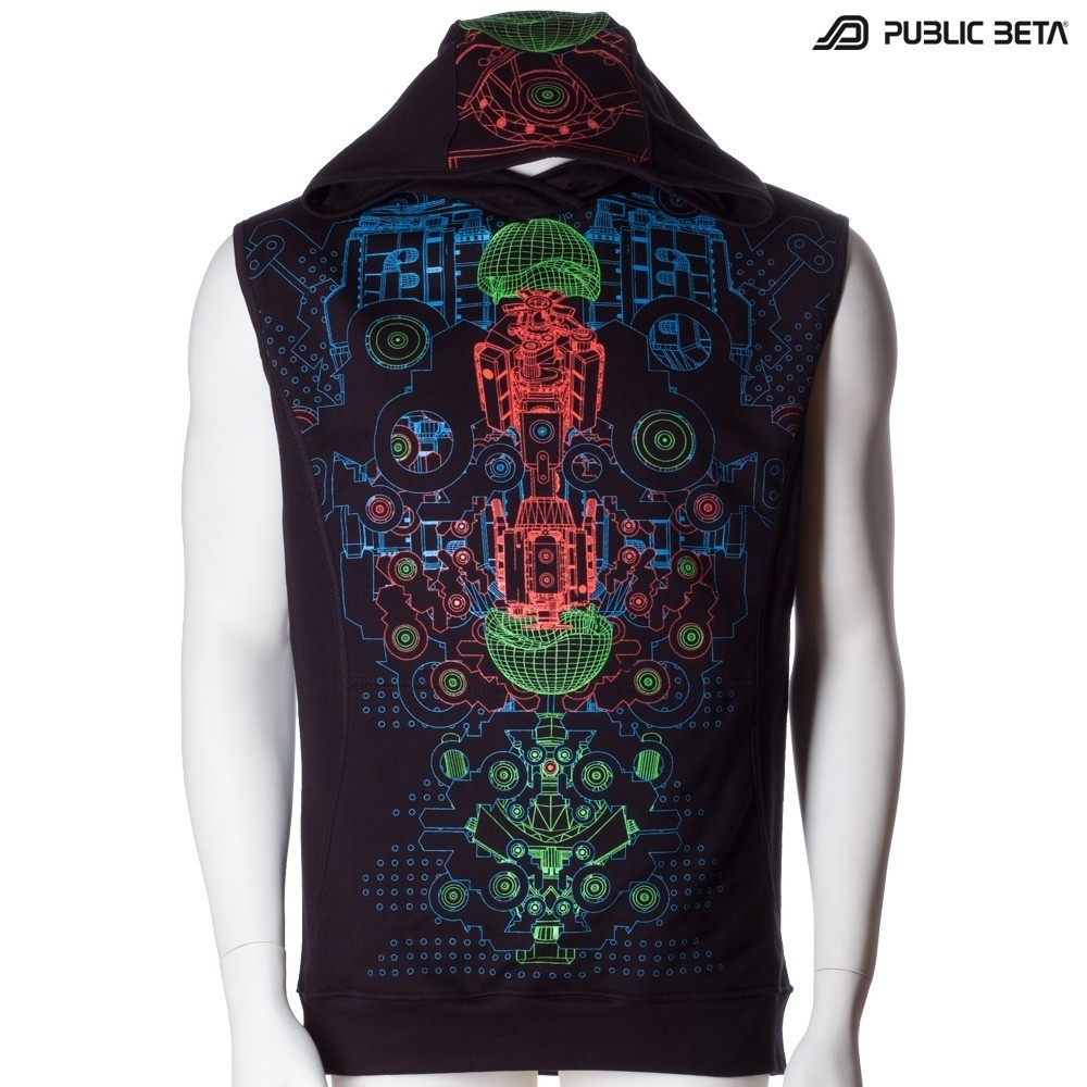 Psywear UV Vest Hybrid D87