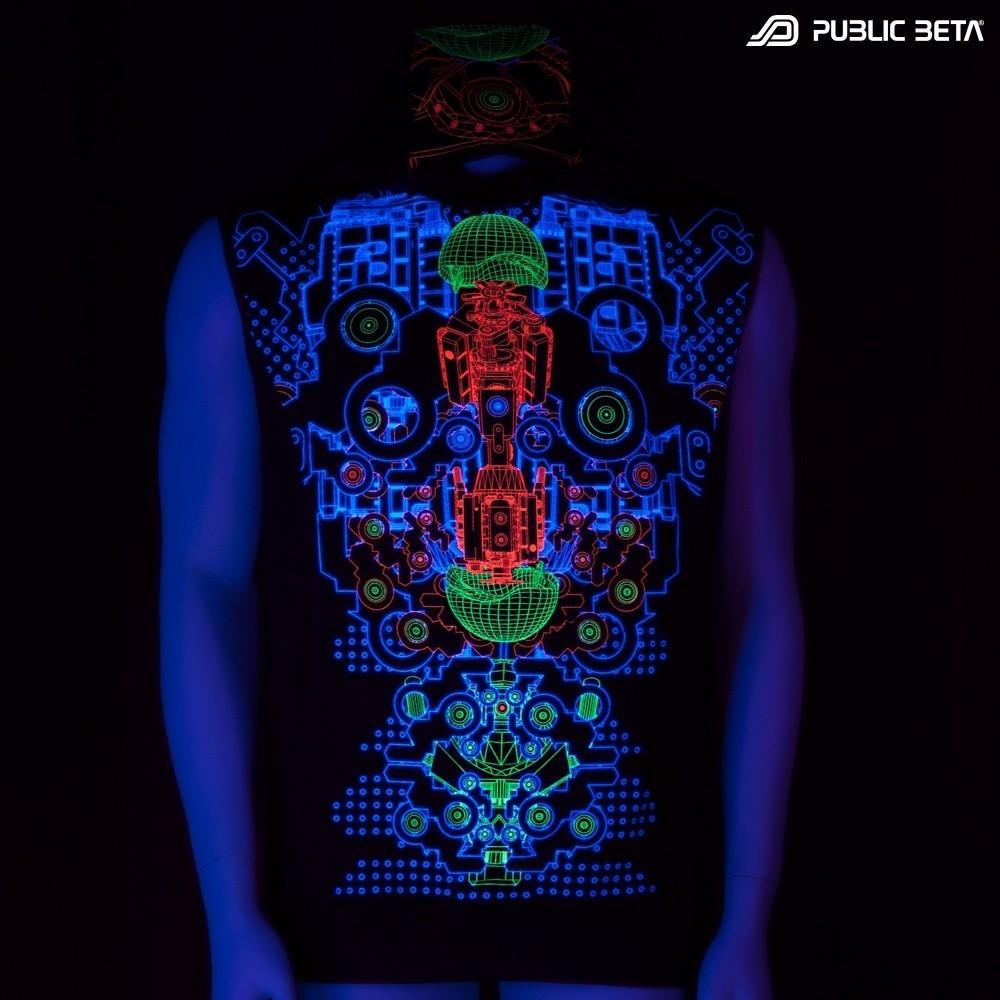 Hybrid UV D87 Vest - by Public Beta Wear