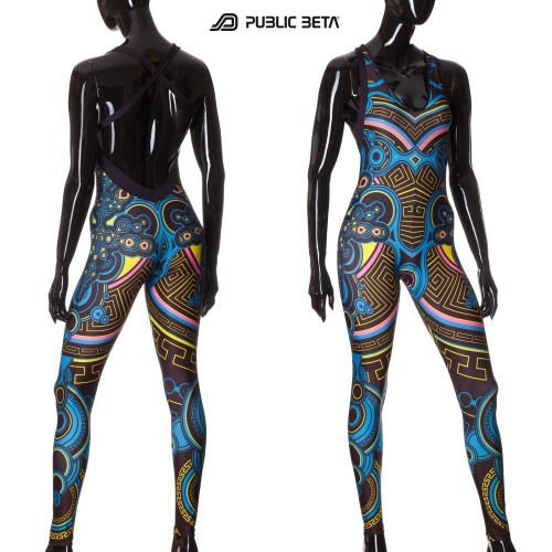 Archaic Trip UV D12- Jumpsuit by Public Beta Wear