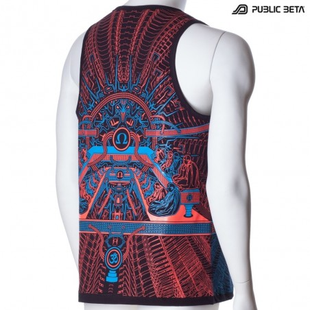OHMmm UV D88 Sleeveless Shirt - by Public Beta Wear