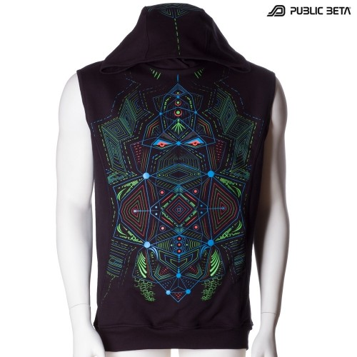Multidimensional UV D89 Vest by Public Beta Wear