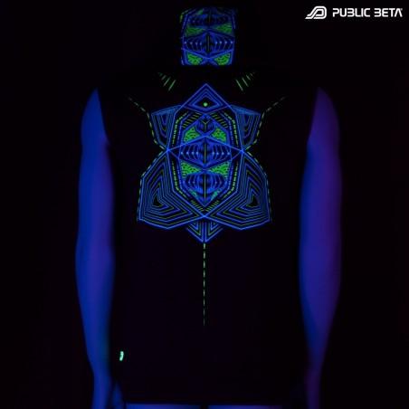 Multidimensional UV D89 Vest by Public Beta Wear