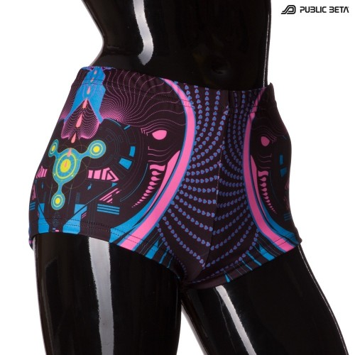 Heartbeat UV D69 Shorts  M3 by Public Beta Wear