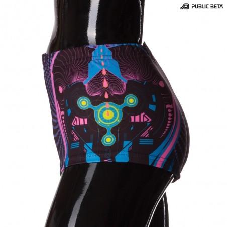 Heartbeat UV D69 Shorts  M3 by Public Beta Wear