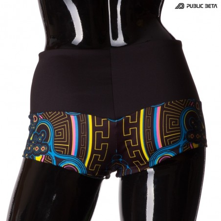 Archaic Trip UV D12 Shorts M1 by Public Beta Wear