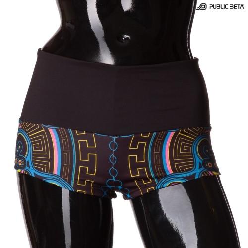 Archaic Trip UV D12 Shorts M1 by Public Beta Wear