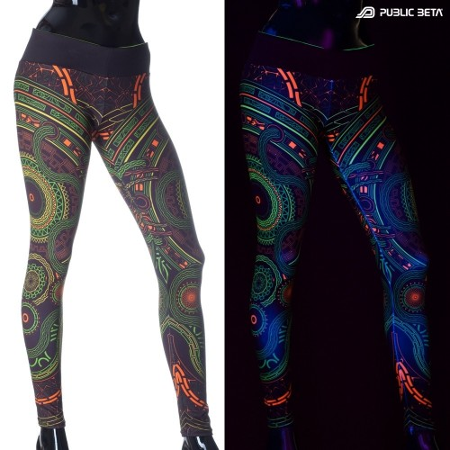 Mastermind D54 UV Active Leggings M2 by Public Beta Wear