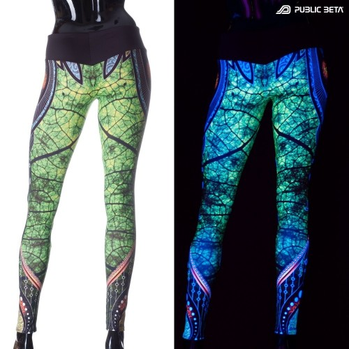 Native D81 UV Active Leggings M2 by Public Beta Wear