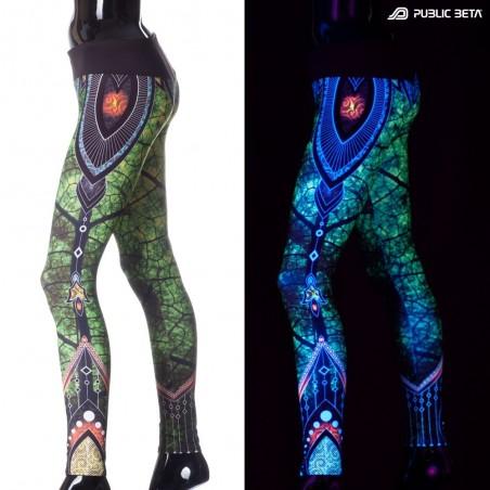 Native D81 UV Active Leggings M2 by Public Beta Wear