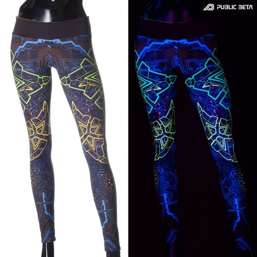 Trinity D91 UV Active Leggings M2 by Public Beta Wear