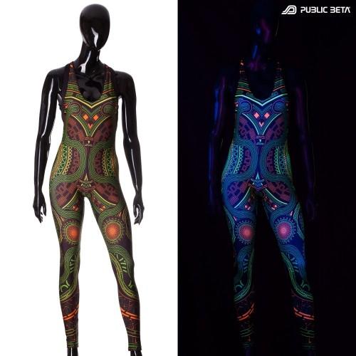 Mastermind UV Jumpsuit Blacklight Reactive Clothing