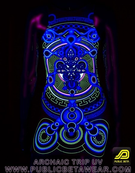 Archaic Trip UV D12 TTDress by Public Beta Wear
