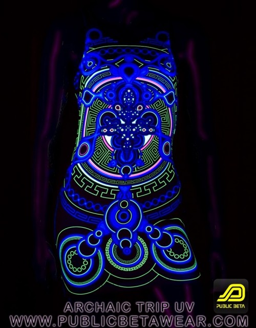 Archaic Trip UV D12 TTDress by Public Beta Wear