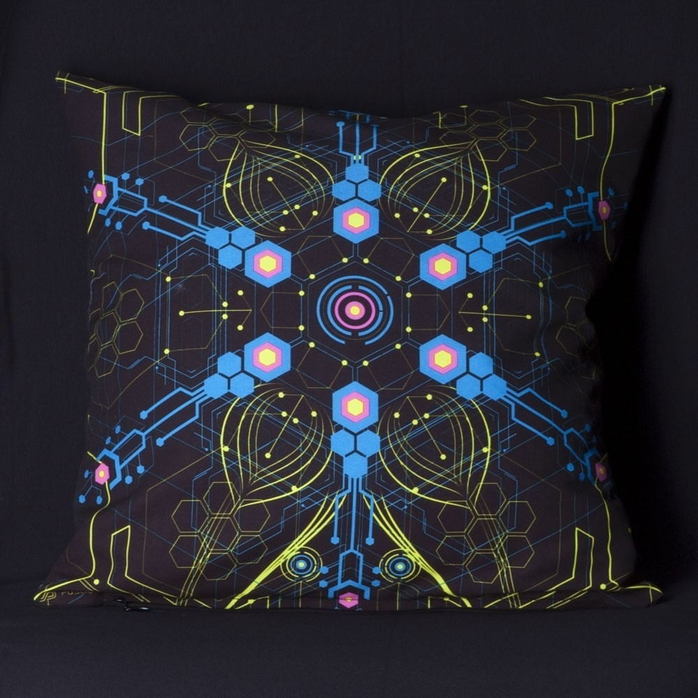 Atomic Generator UV D2 Pillow Case by Public Beta Wear