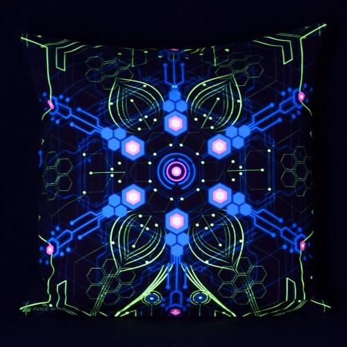 Atomic Generator UV D2 Pillow Case by Public Beta Wear