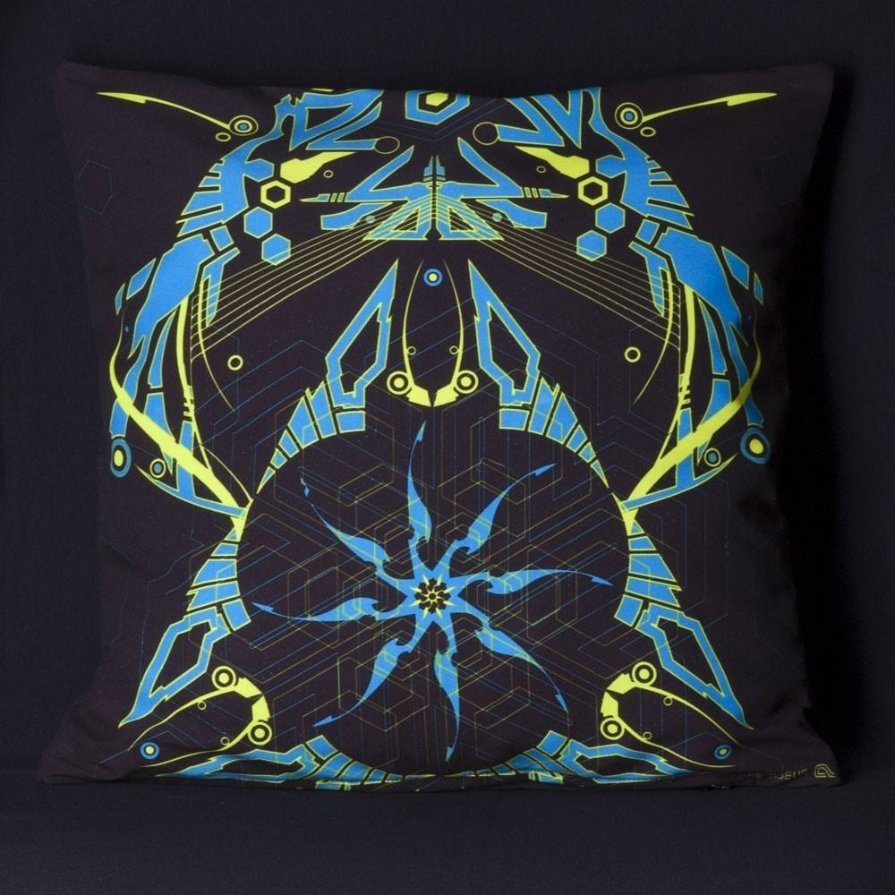 Totemo UV D25 Pillow Case by Public Beta Wear