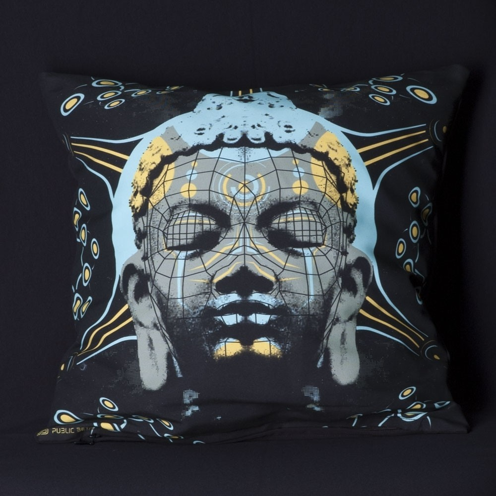 Quantumkarma UV D57 Pillow Case by Public Beta Wear