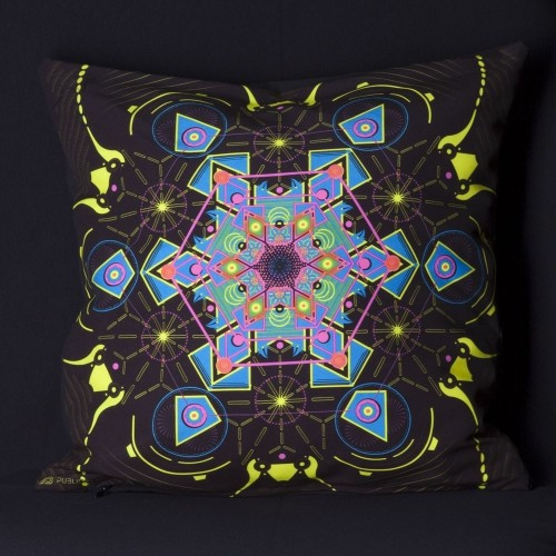 Aquatic UV D71 Pillow Case by Public Beta Wear