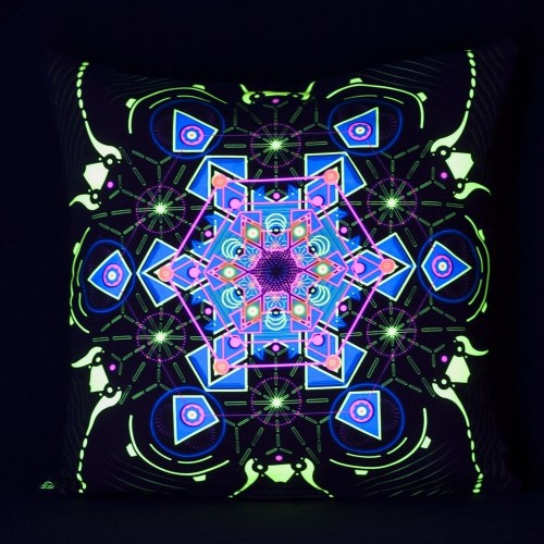 Aquatic UV D71Pillow Case by Public Beta Wear