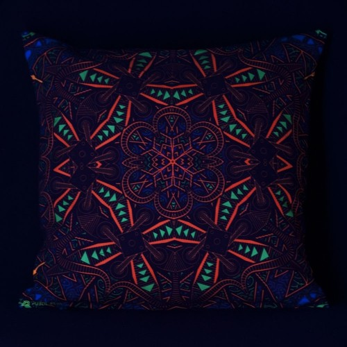 Vortex UV D98 Pillow Case by Public Beta Wear