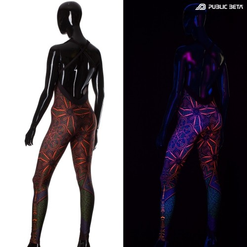Vortex UV Jumpsuit UV Costume