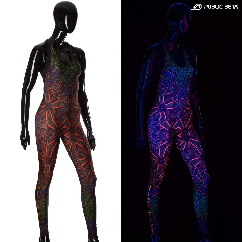 Vortex UV D98  Jumpsuit by Public Beta Wear